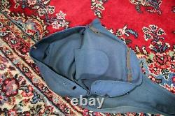 US Civil War Original Confederate Guitar Cover Pouch. With Letter & Provenance
