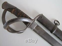 US Civil War Tiffany-PDL Model 1840 Heavy Cavalry Wristbreaker Sword withScabbard