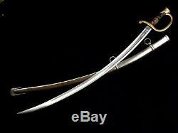 U. S. Civil War Artillery Sword Saber Model 1840