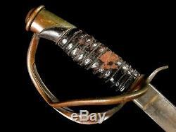 U. S. Civil War Cavalry Saber Sword Model 1860
