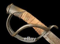 U. S. Civil War Cavalry Sword Saber Model 1840 Wrist Breaker Maked R&C