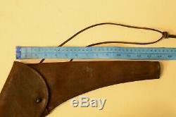 U. S. Civil War Navy 1847 Colt Walker Original Revolver leather Holster