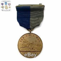 U. S. Marine Corps CIVIL War Campaign Medal Wrap Brooch 1943 U. S. Mint Contract