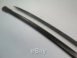 Us CIVIL War Cavalry Sword With Scabbard Dated 1865 Ames Makers #c20