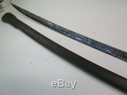 Us CIVIL War Heavy Cavalry Sword With Scabbard C&j Makers Mark #c54