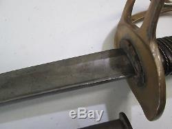 Us CIVIL War Period German Import Cavalry Sword With Scabbard #m79