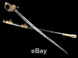 Very Nice U. S. CIVIL War Staff And Field Officer Sword Model 1850