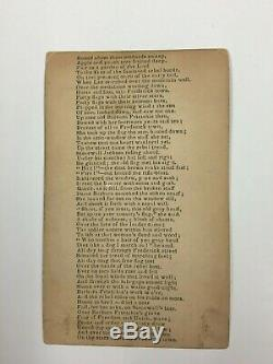 Very Rare CDV Barbara Frietchie Civil War Poem Stonewall Jackson FredericK, MD