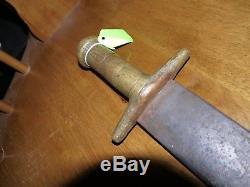 Very Rare CIVIL War Gladius Type CIVIL War Sword Confederate. Forged. Amazing