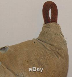 Vintage CIVIL War Veteran's Prosthetic Leg! Primitive Made Of Tree Limb! Padded