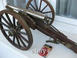 Vintage Jukar From Spain CIVIL War 70 Caliber Black Powder Cannon. Rare