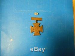 Vintage Original CIVIL War Ucv Confederate Southern Cross Of Honor Medal-atlanta