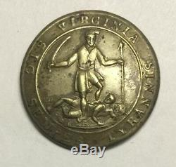 Virginia Early Pre Civil War Coat Button