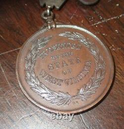 West Virginia Honorable Discharge Civil War Medal named