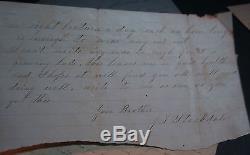 XRARE Confederate J Stockdale POW Surgeon Mountain Rangers Civil War Letters CSA