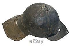 Zischagge Lobster Tail Hungary English Civil War Helmet, 1630